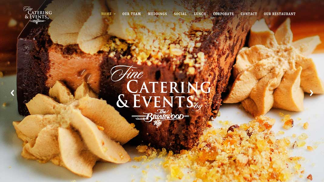 comp of catering site
