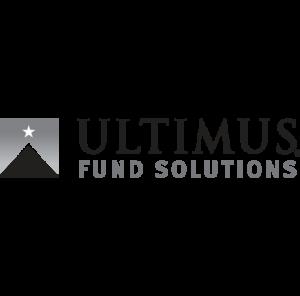ultimus logo black and white design by Stortz Design