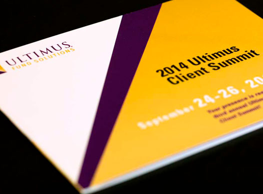 Photo of Ultimus Client Summit print