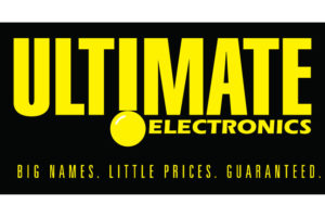 Ultimate electronics logo