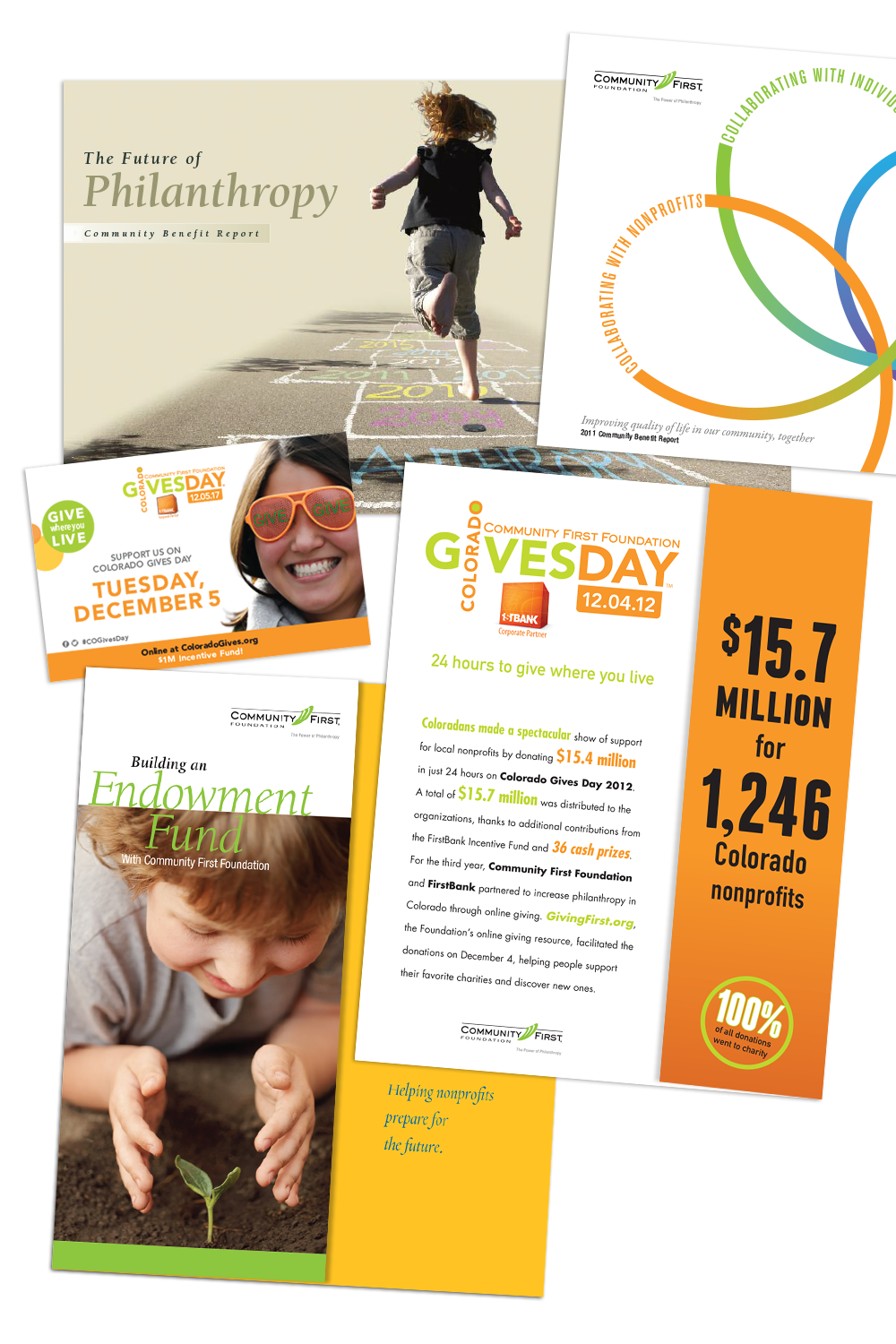 Community First Foundation Marketing Collateral