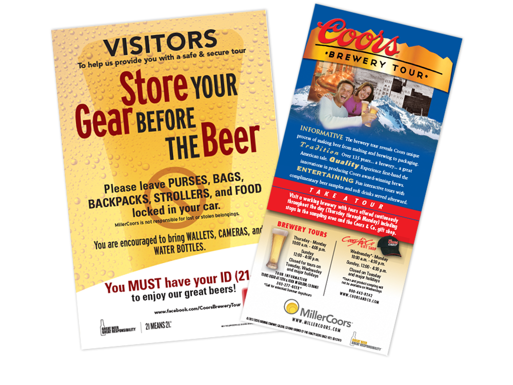 MillerCoors Marketing Collateral